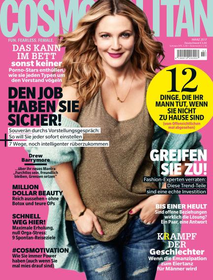 Cosmopolitan - DE February 09, 2017 00:00
