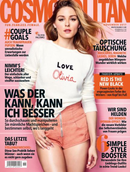 Cosmopolitan - DE October 12, 2017 00:00