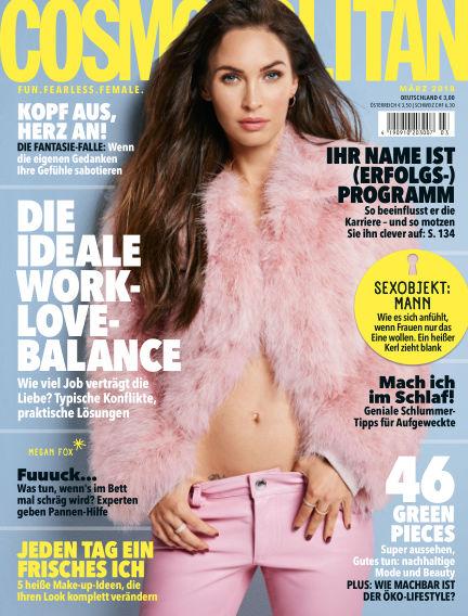 Cosmopolitan - DE February 08, 2018 00:00