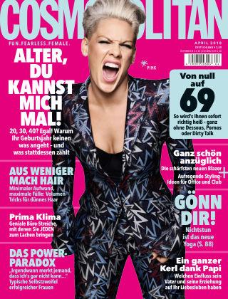 Cosmopolitan - DE NR.04 2018