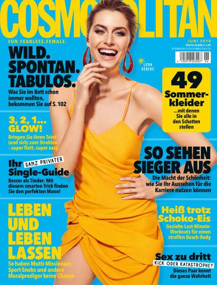 Cosmopolitan - DE May 09, 2018 00:00