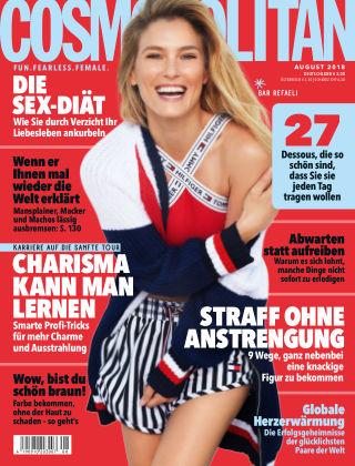 Cosmopolitan - DE NR.08 2018