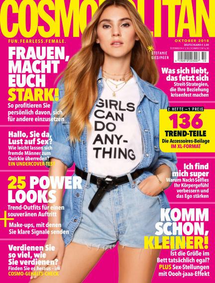 Cosmopolitan - DE September 06, 2018 00:00