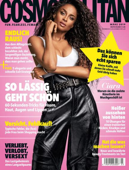 Cosmopolitan - DE February 07, 2019 00:00