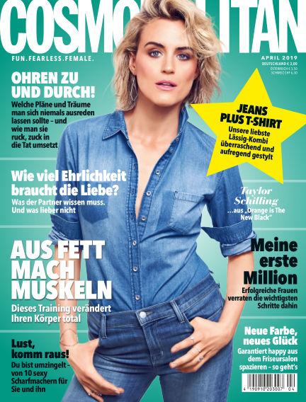 Cosmopolitan - DE March 07, 2019 00:00
