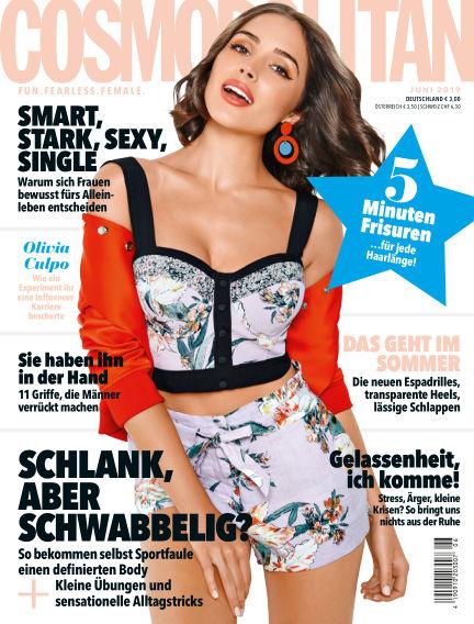 Cosmopolitan - DE May 16, 2019 00:00