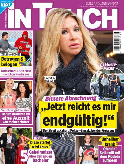 InTouch - DE November 09, 2017 00:00