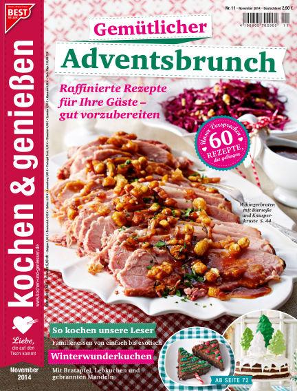Kochen & Genießen October 15, 2014 00:00