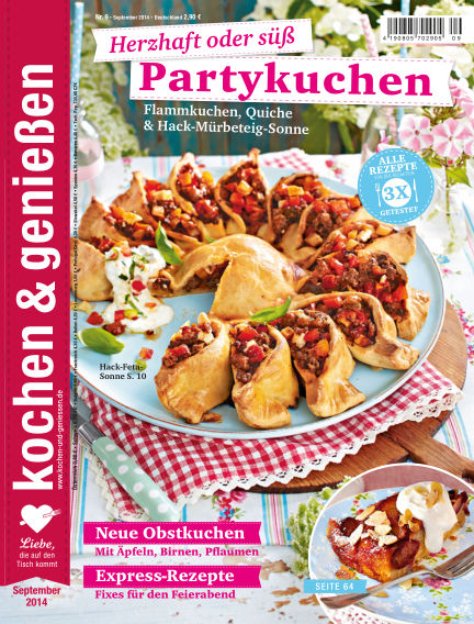 Kochen & Genießen August 20, 2014 00:00