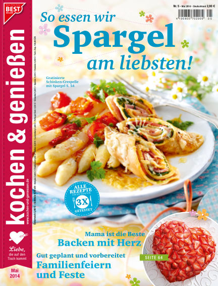 Kochen & Genießen April 16, 2014 00:00