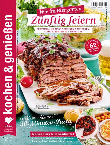 Kochen & Genießen July 15, 2015 00:00