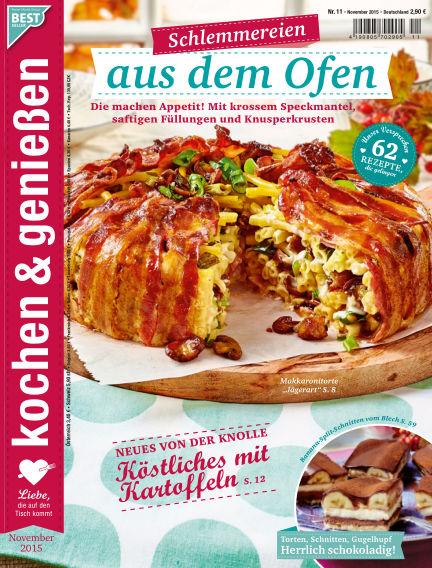 Kochen & Genießen October 14, 2015 00:00