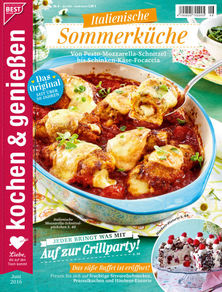 Kochen & Genießen May 11, 2016 00:00