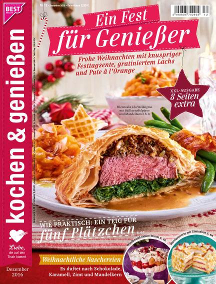 Kochen & Genießen November 09, 2016 00:00