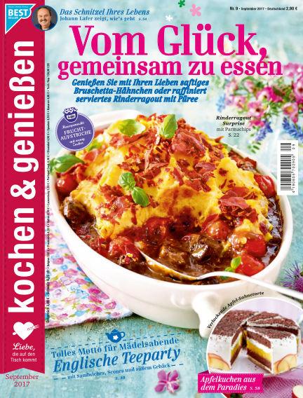 Kochen & Genießen August 09, 2017 00:00