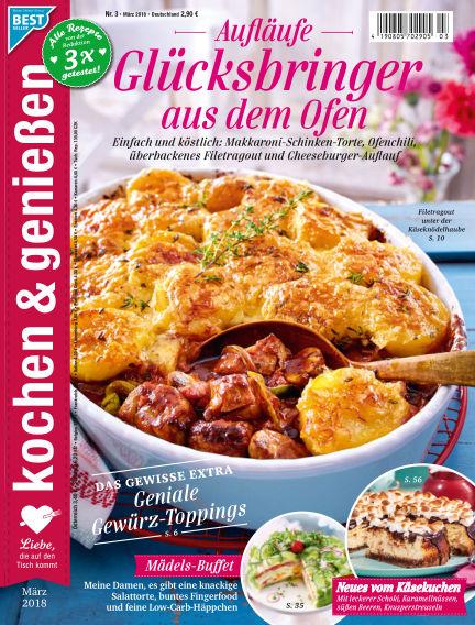 Kochen & Genießen February 07, 2018 00:00