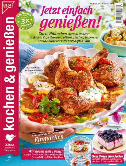 Kochen & Genießen June 13, 2018 00:00