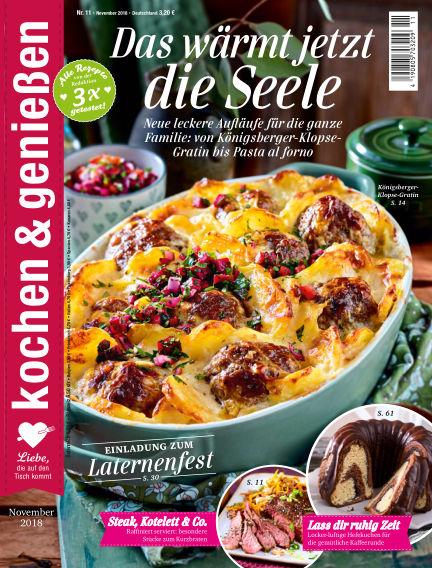 Kochen & Genießen October 10, 2018 00:00