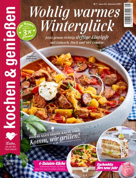 Kochen & Genießen December 12, 2018 00:00