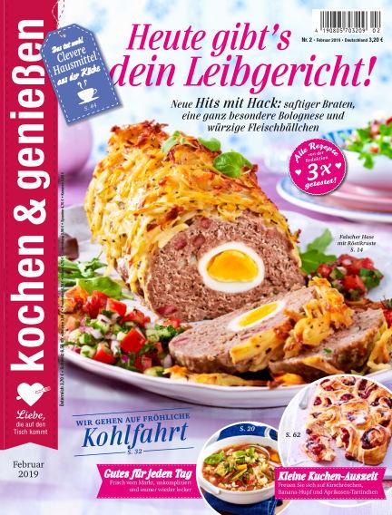 Kochen & Genießen January 09, 2019 00:00