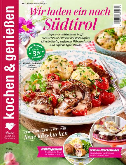 Kochen & Genießen February 13, 2019 00:00