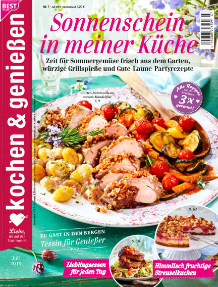 Kochen & Genießen June 26, 2019 00:00