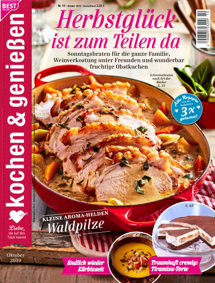 Kochen & Genießen September 18, 2019 00:00