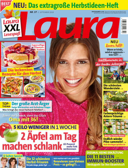 Laura September 05, 2018 00:00
