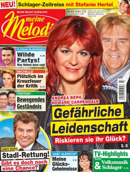 Meine Melodie February 18, 2016 00:00