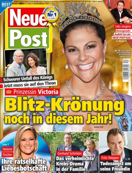 Neue Post September 24, 2014 00:00