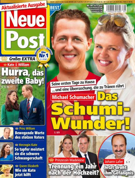 Neue Post September 10, 2014 00:00