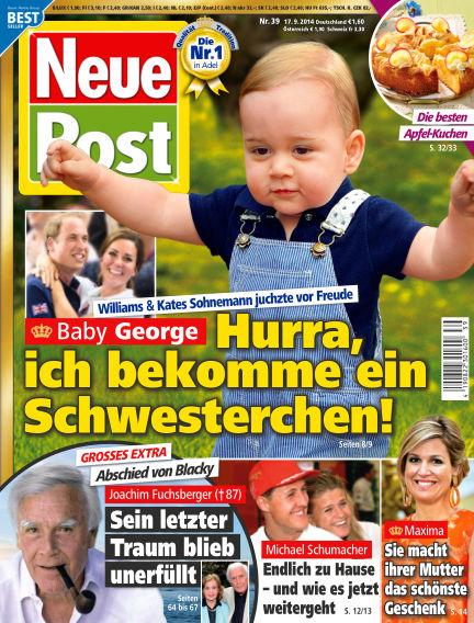 Neue Post September 17, 2014 00:00