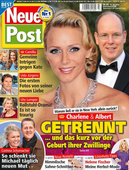 Neue Post October 15, 2014 00:00