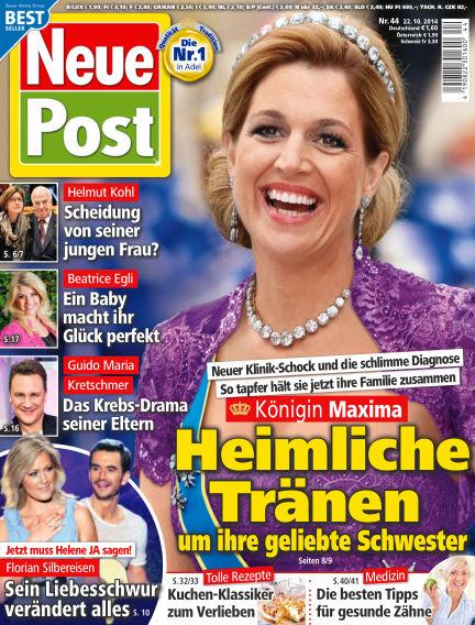 Neue Post October 22, 2014 00:00