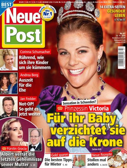 Neue Post November 12, 2014 00:00