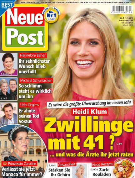 Neue Post January 07, 2015 00:00