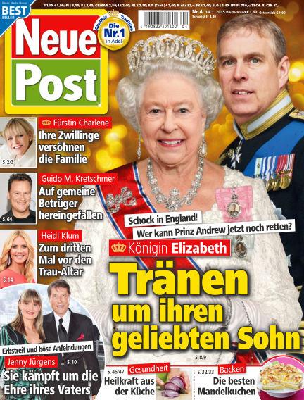 Neue Post January 14, 2015 00:00