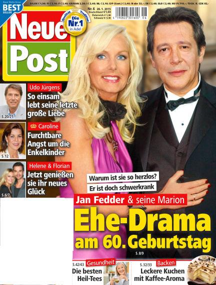 Neue Post January 28, 2015 00:00