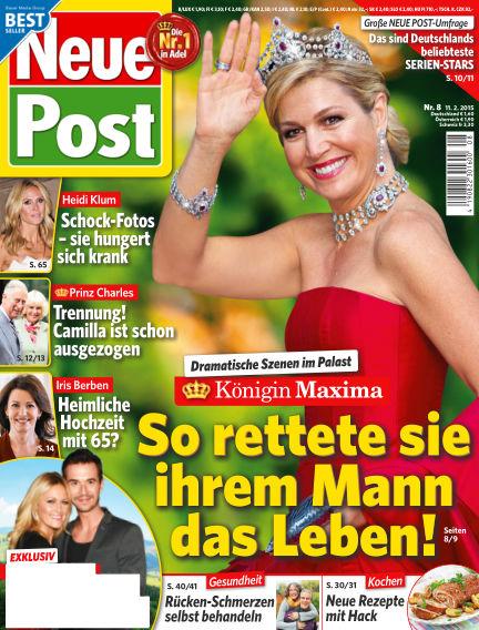Neue Post February 11, 2015 00:00