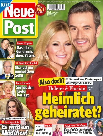 Neue Post February 18, 2015 00:00