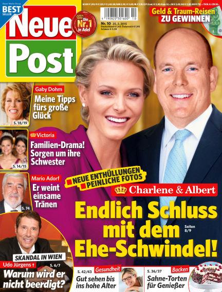 Neue Post February 25, 2015 00:00