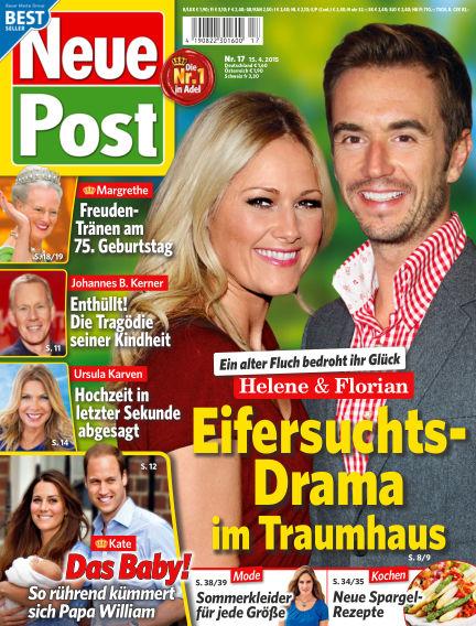 Neue Post April 15, 2015 00:00