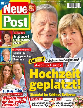 Neue Post NR.19 2015
