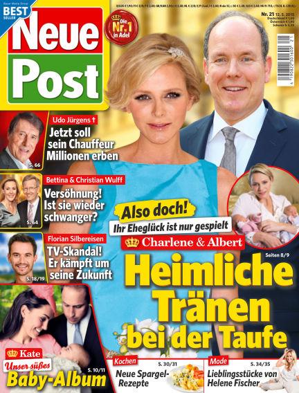 Neue Post May 12, 2015 00:00