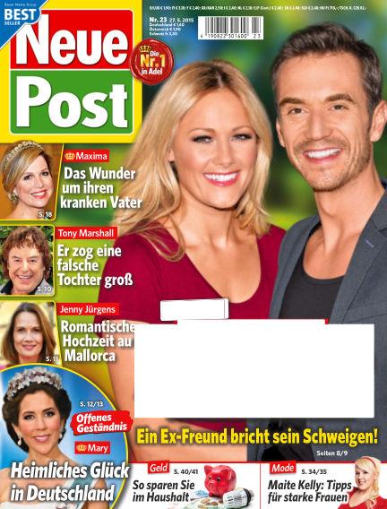 Neue Post May 27, 2015 00:00