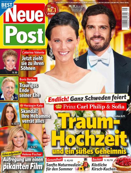Neue Post June 10, 2015 00:00
