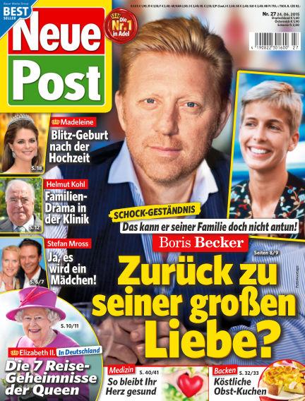 Neue Post June 24, 2015 00:00