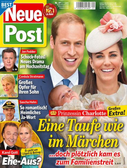 Neue Post July 08, 2015 00:00