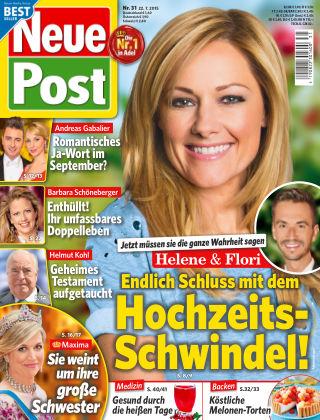 Neue Post NR.31 2015