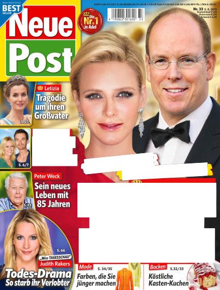 Neue Post August 05, 2015 00:00